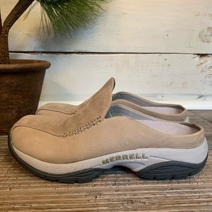 Merrell Primo MOC Seam Sand Suede Comfort Loafer